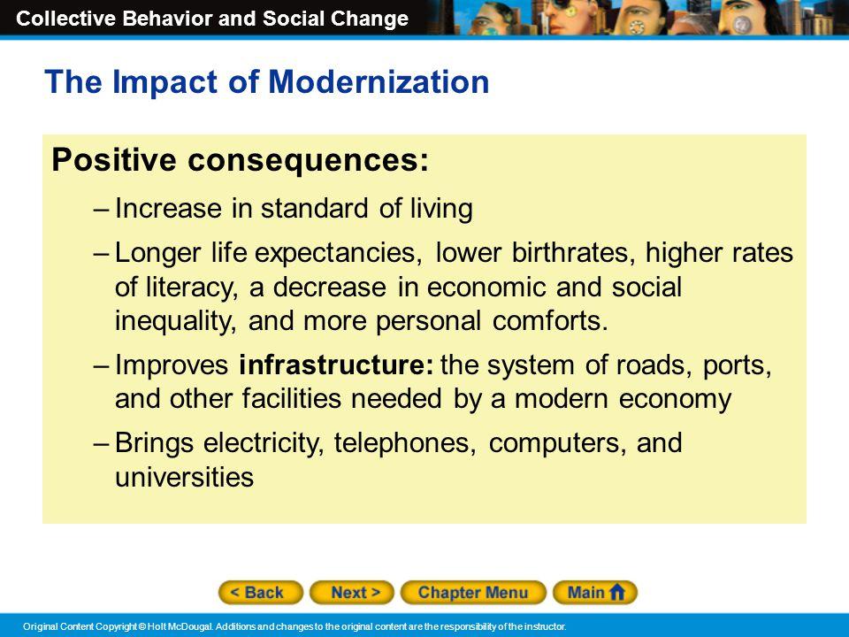 The Impact of Modernization