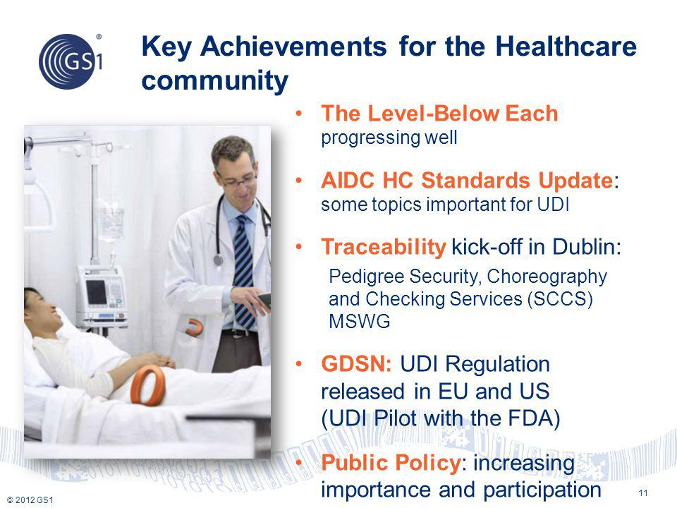 Key Achievements for the Healthcare community