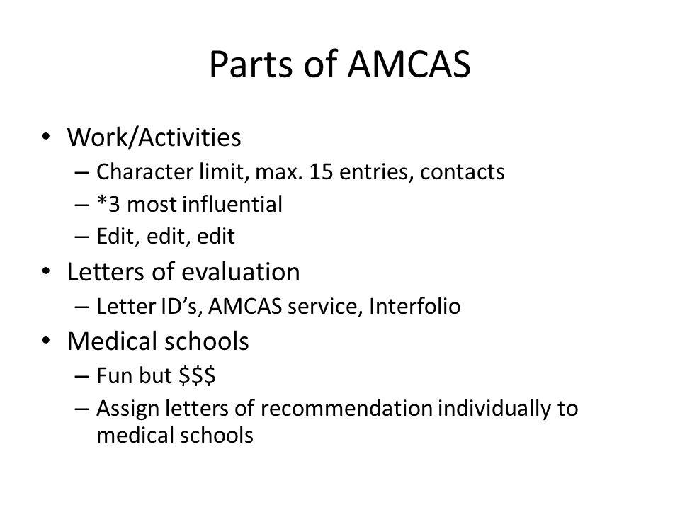 Aamc personal statement medical school Essay Example