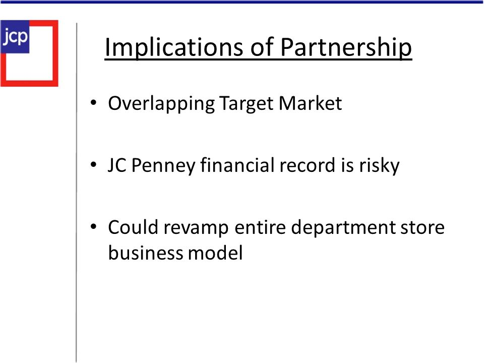 Implications of Partnership