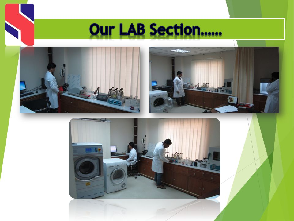 Our LAB Section……