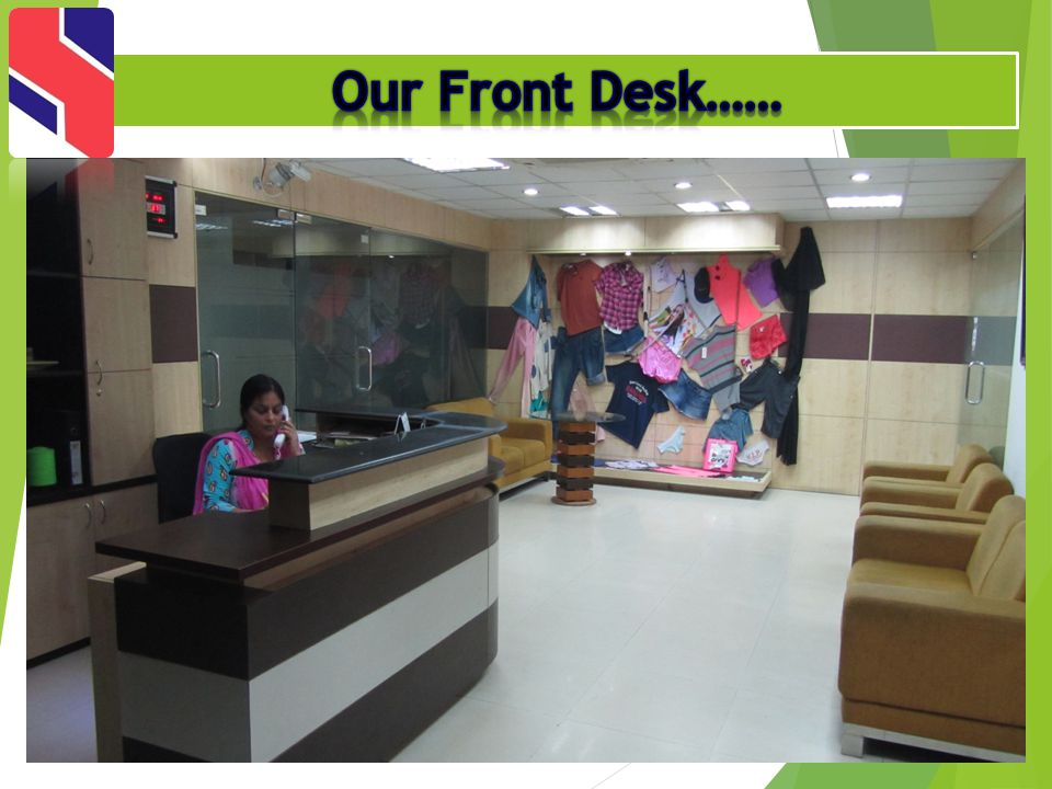 Our Front Desk……