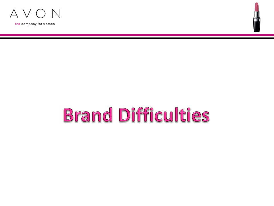 Brand Difficulties