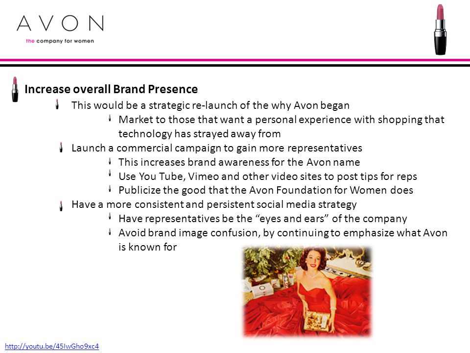 Increase overall Brand Presence