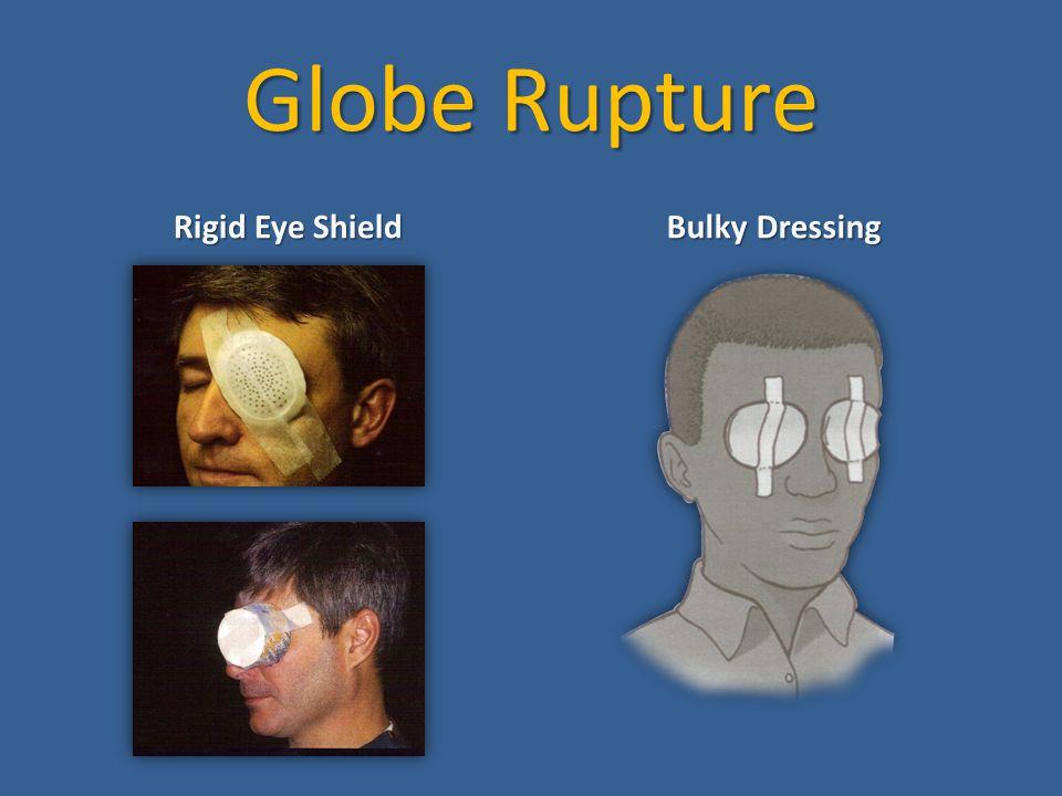Globe Rupture Rigid Eye Shield Bulky Dressing
