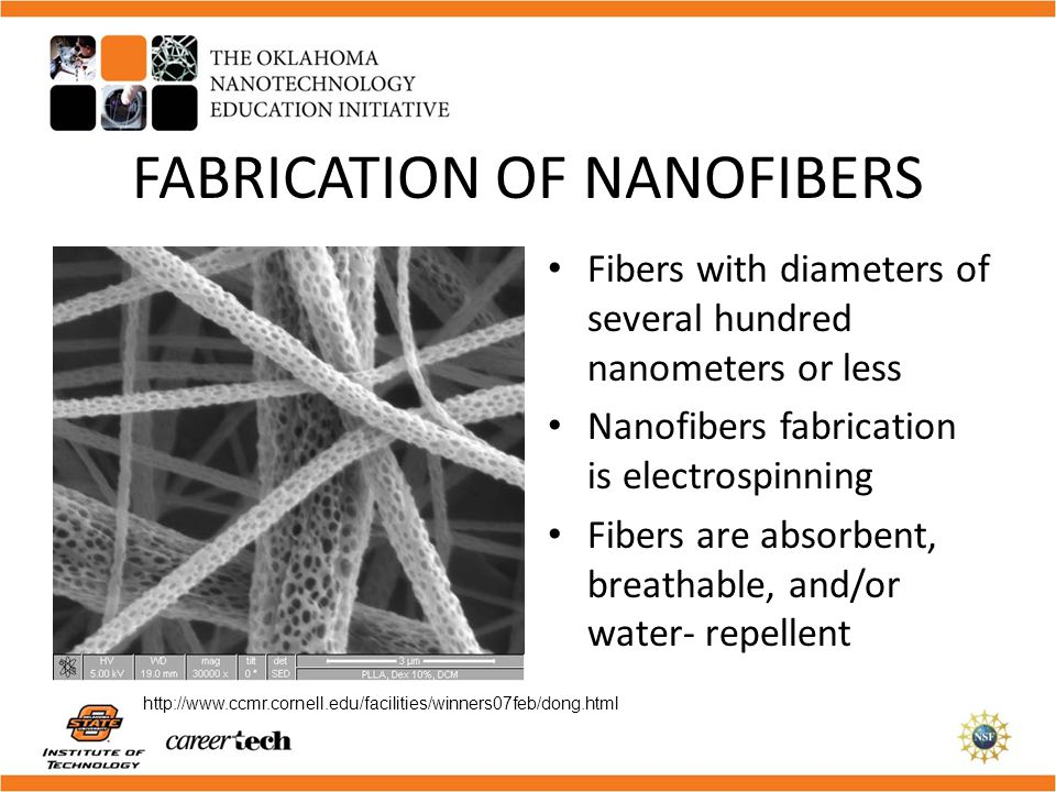 FABRICATION OF NANOFIBERS