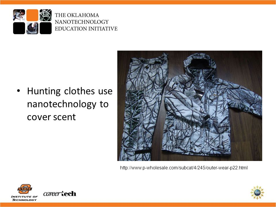 Hunting clothes use nanotechnology to cover scent