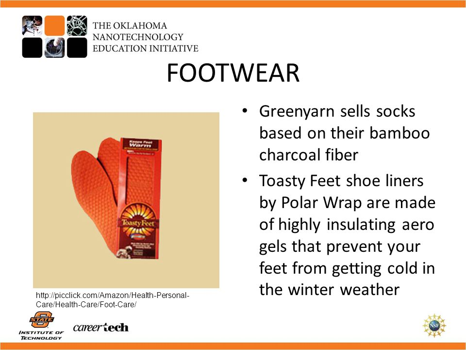 FOOTWEAR Greenyarn sells socks based on their bamboo charcoal fiber