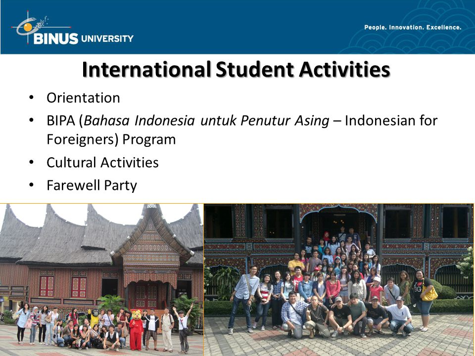 International Student Activities
