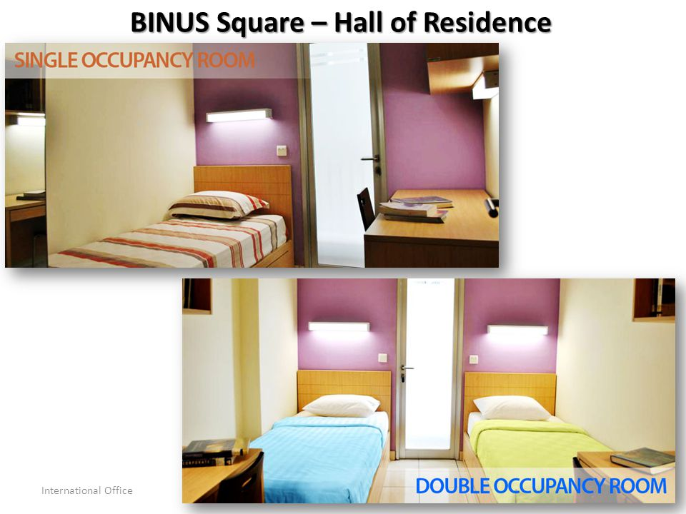 BINUS Square – Hall of Residence