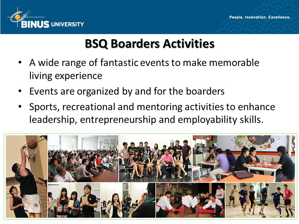 BSQ Boarders Activities
