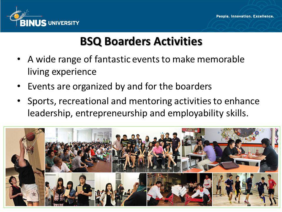 BSQ Boarders Activities