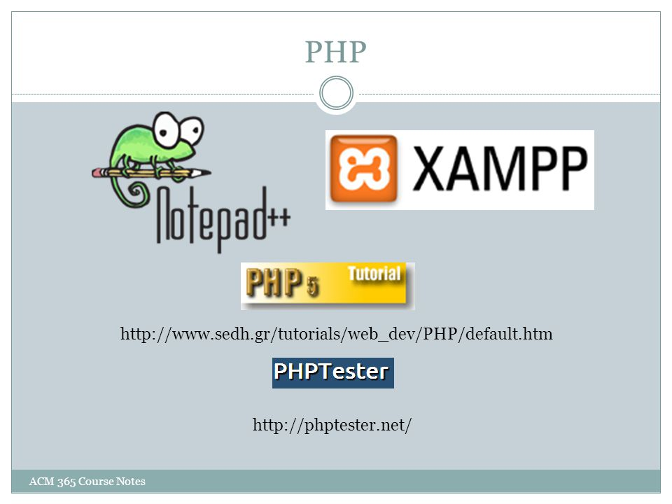 PHP http://www.sedh.gr/tutorials/web_dev/PHP/default.htm