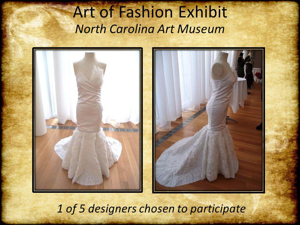 Art of Fashion Exhibit North Carolina Art Museum