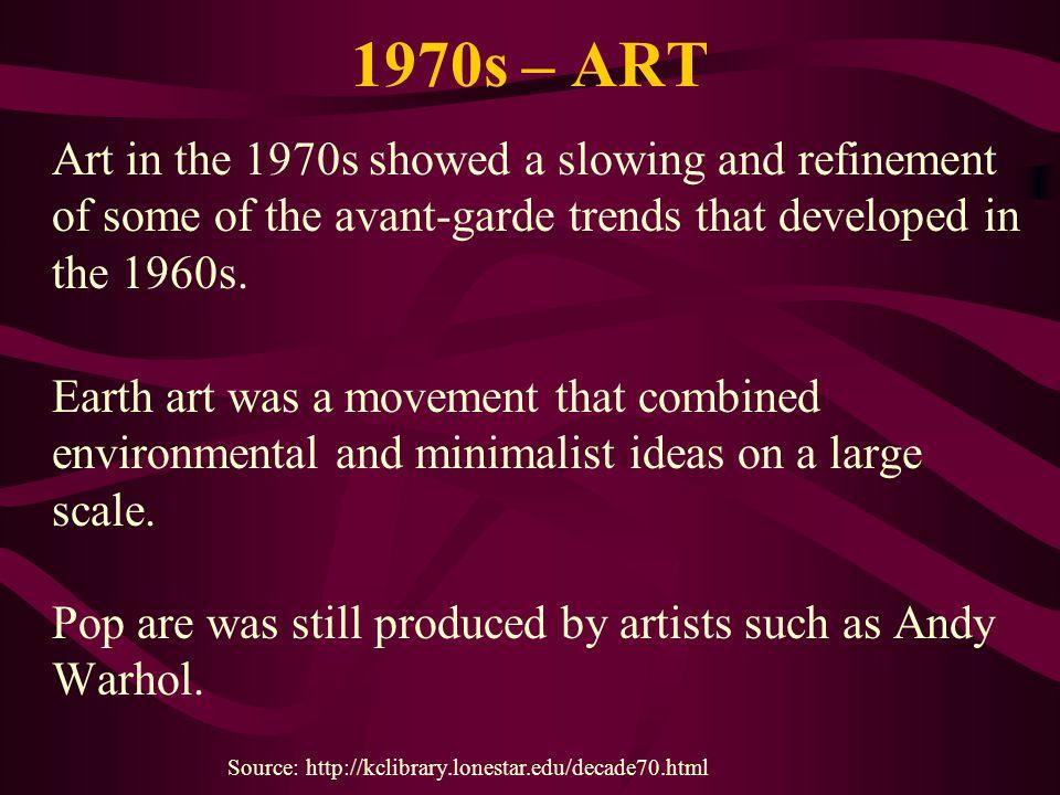 1970s – ART