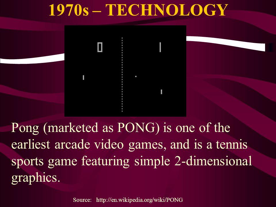 1970s – TECHNOLOGY