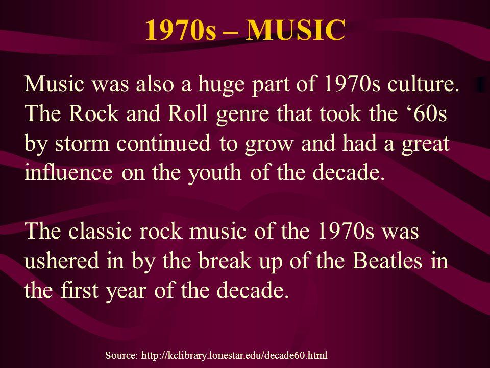 1970s – MUSIC