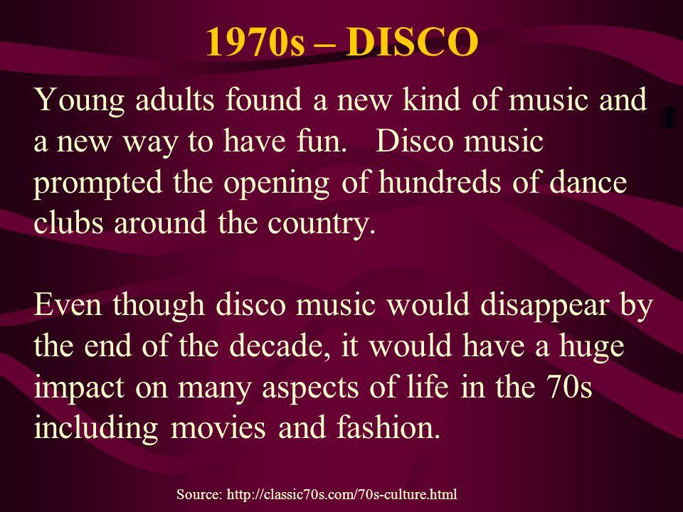 1970s – DISCO
