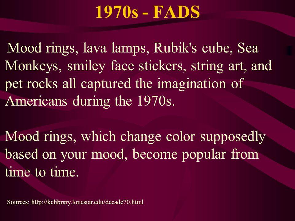 1970s - FADS
