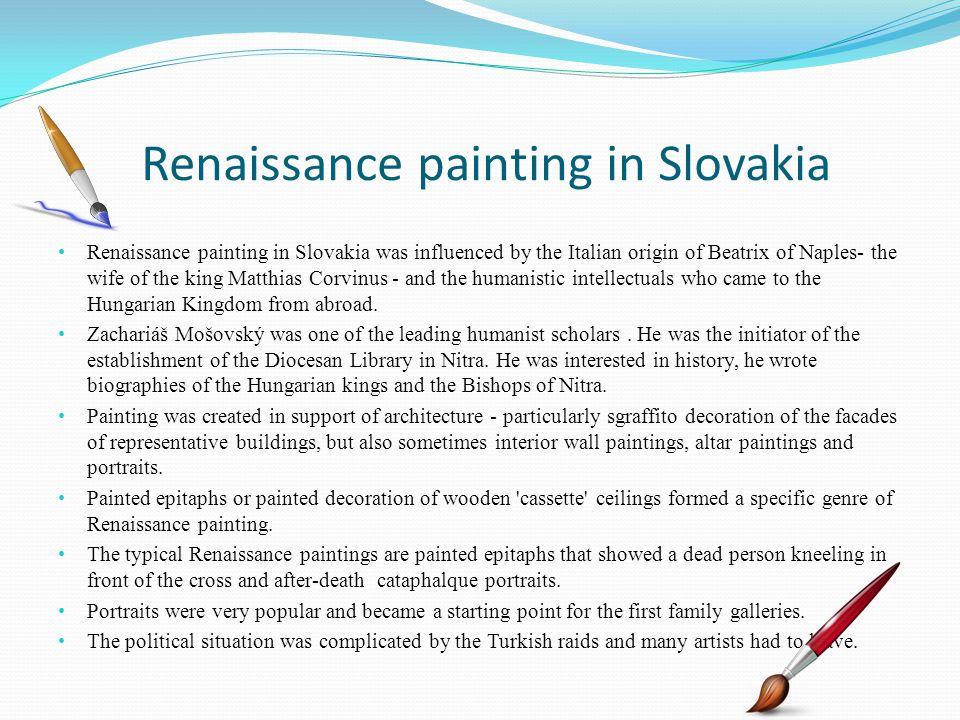 Renaissance painting in Slovakia
