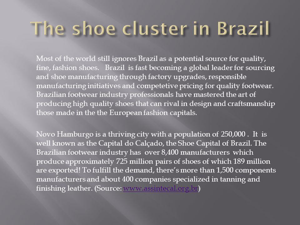 The shoe cluster in Brazil