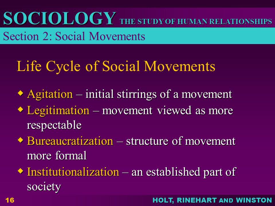 Life Cycle of Social Movements