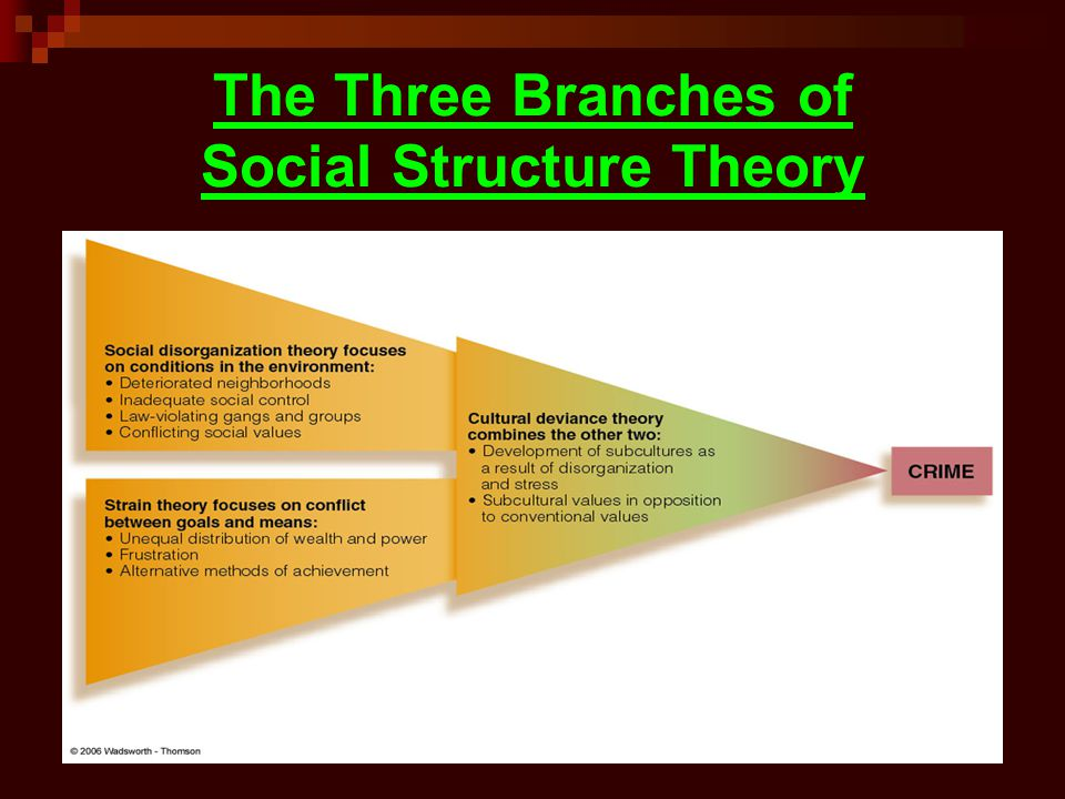 social structure theories Broadly speaking, social theories are analytical frameworks or paradigms used to examine social phenomena the term 'social theory' encompasses ideas about 'how societies change and develop, about methods of explaining social behaviour, about power and social structure, gender and ethnicity, modernity and 'civilisation', revolutions.