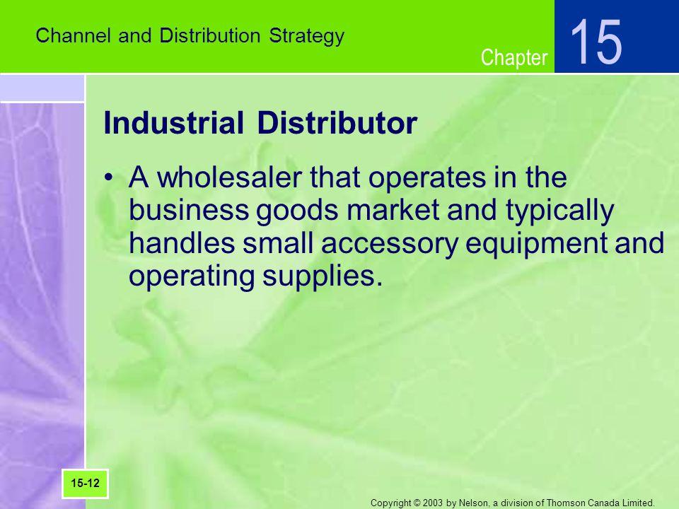 Industrial Distributor