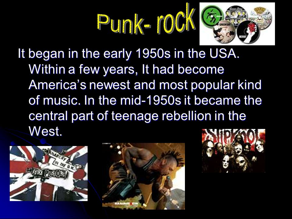 Punk- rock