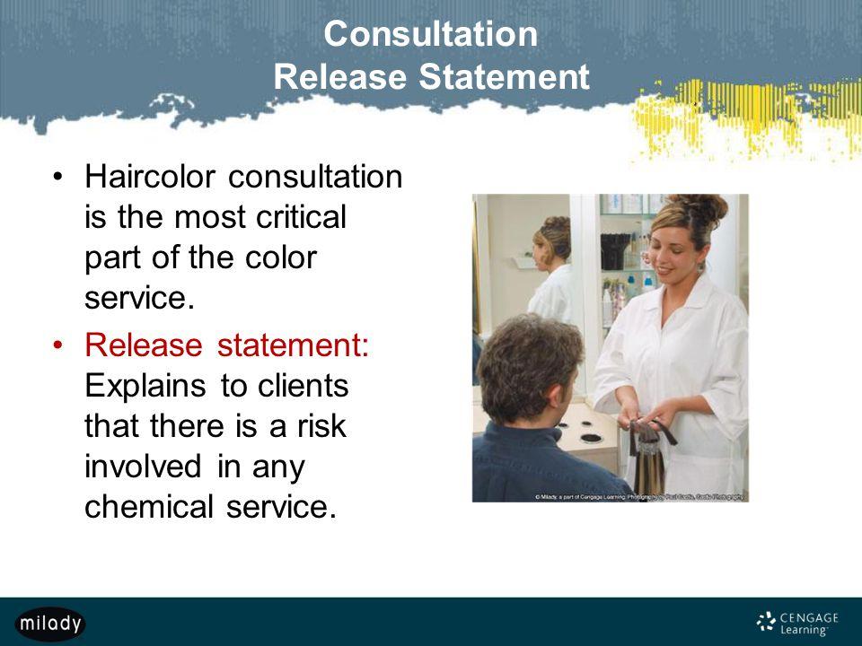 Consultation Release Statement