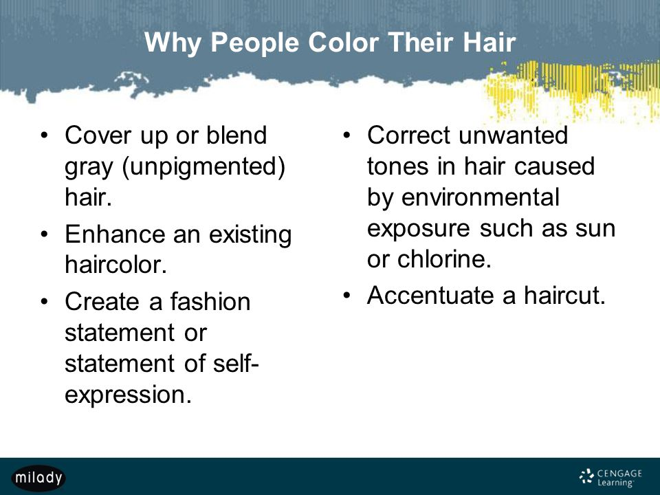 Why People Color Their Hair