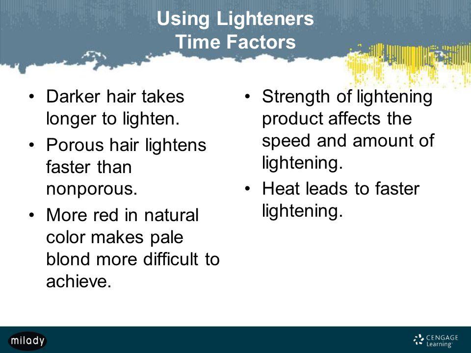 Using Lighteners Time Factors