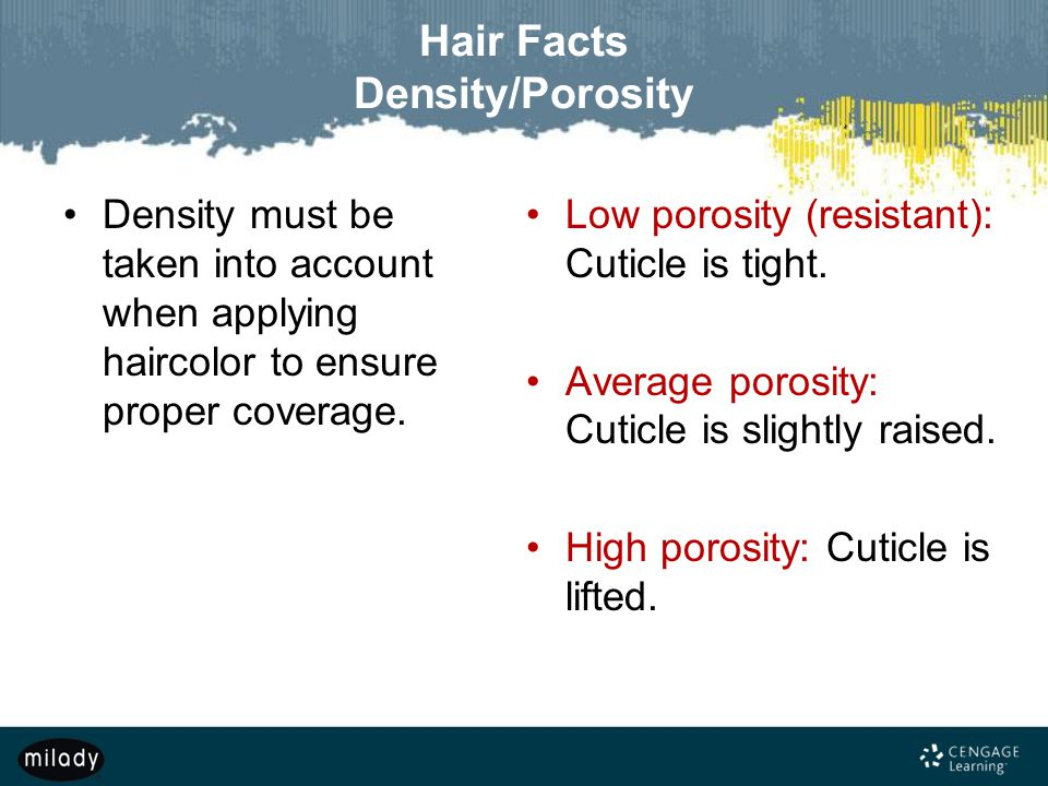Low Porosity And Low Density Natural Hair