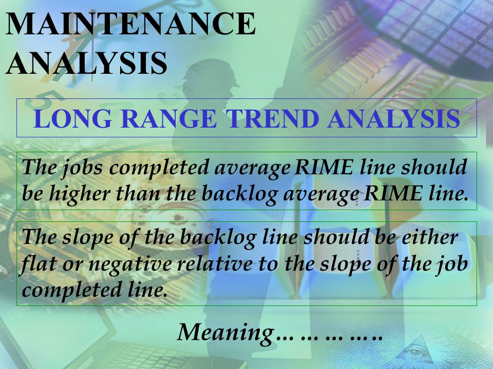 LONG RANGE TREND ANALYSIS
