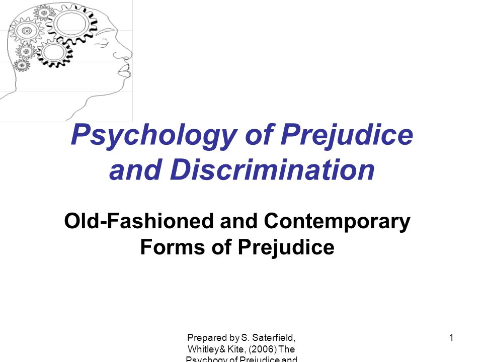 an introduction to the issue of prejudice and discrimination