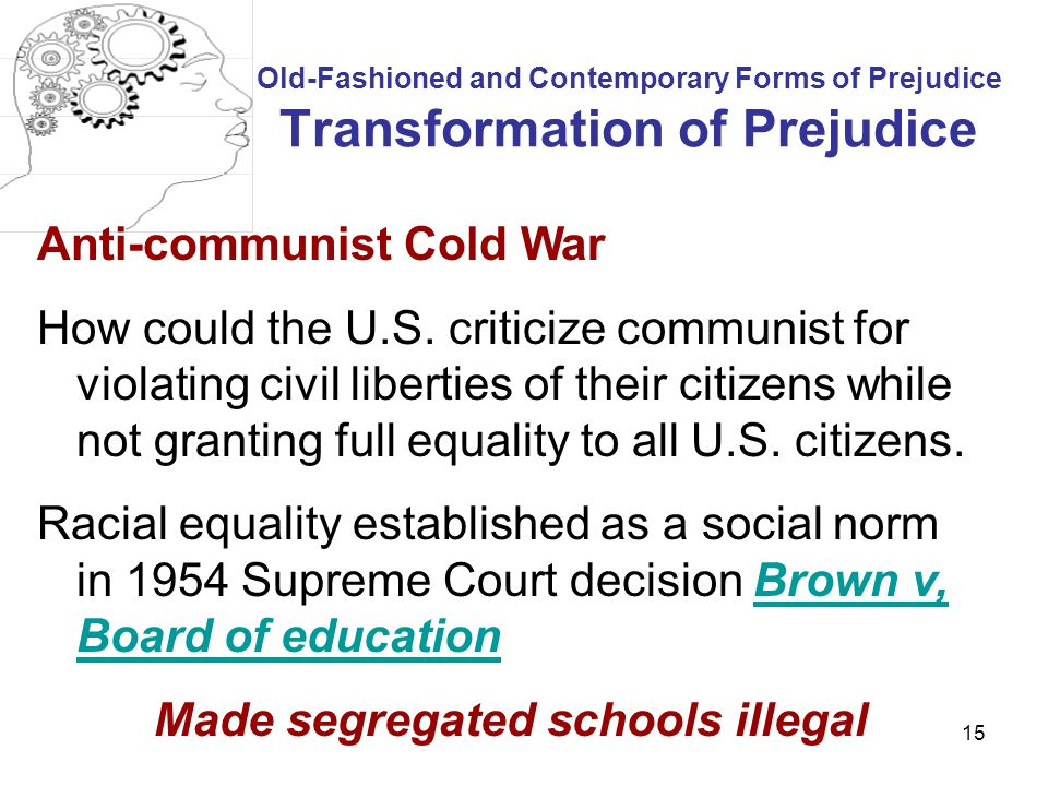 Made segregated schools illegal