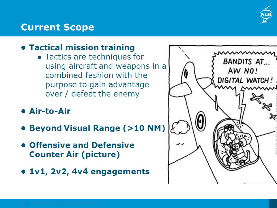Current Scope Tactical mission training