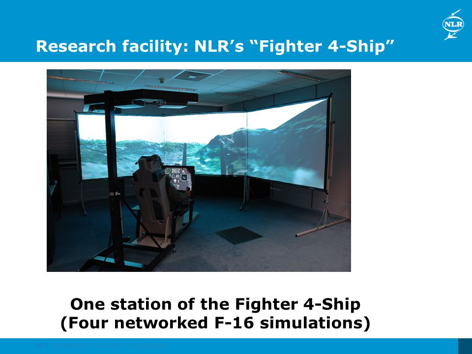 Research facility: NLR's Fighter 4-Ship