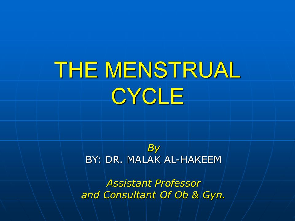 and Consultant Of Ob & Gyn.