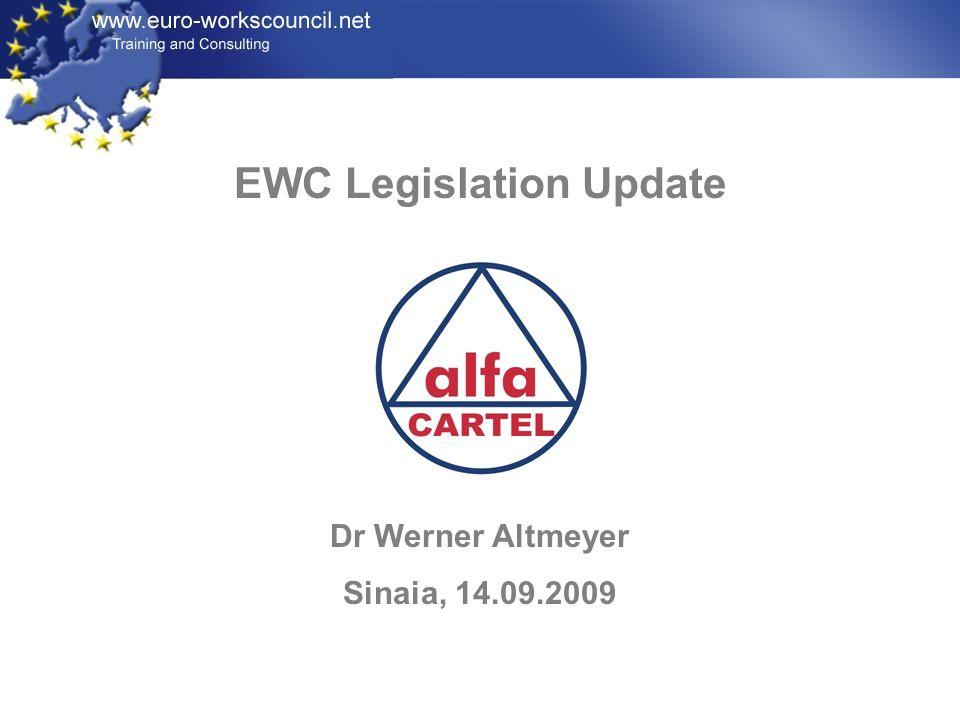 EWC Legislation Update