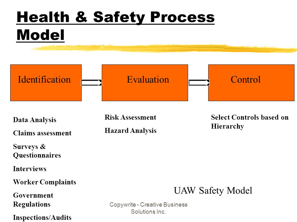 Health & Safety Process Model