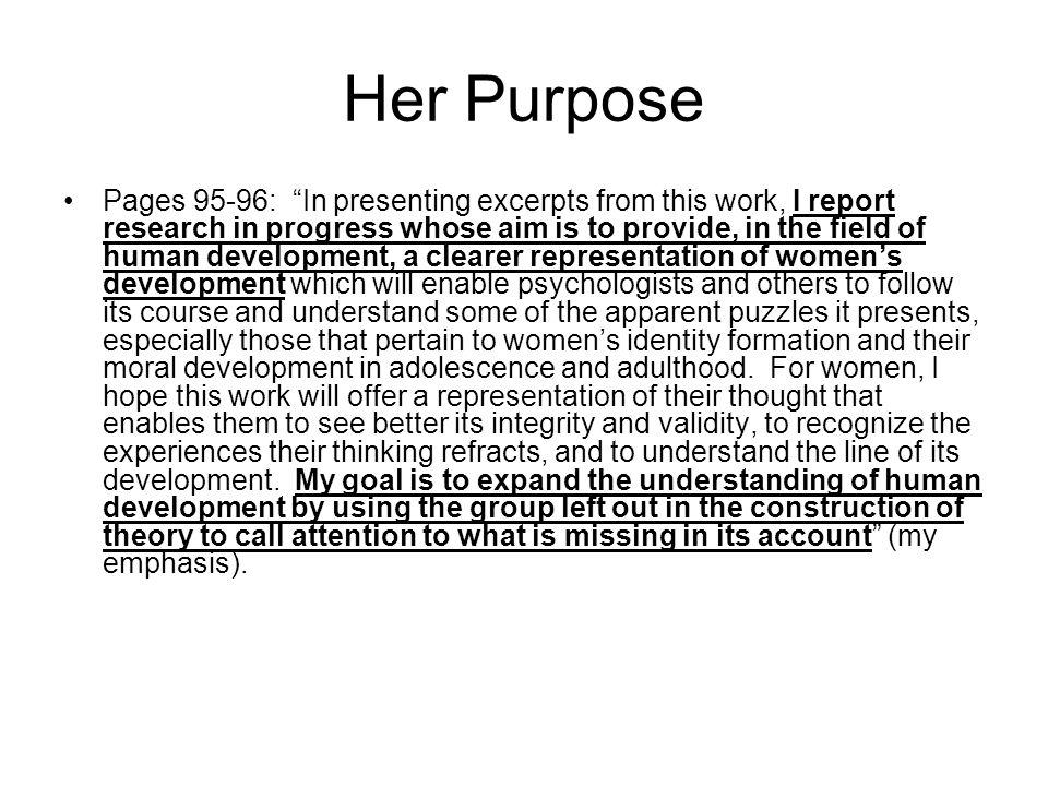 Her Purpose