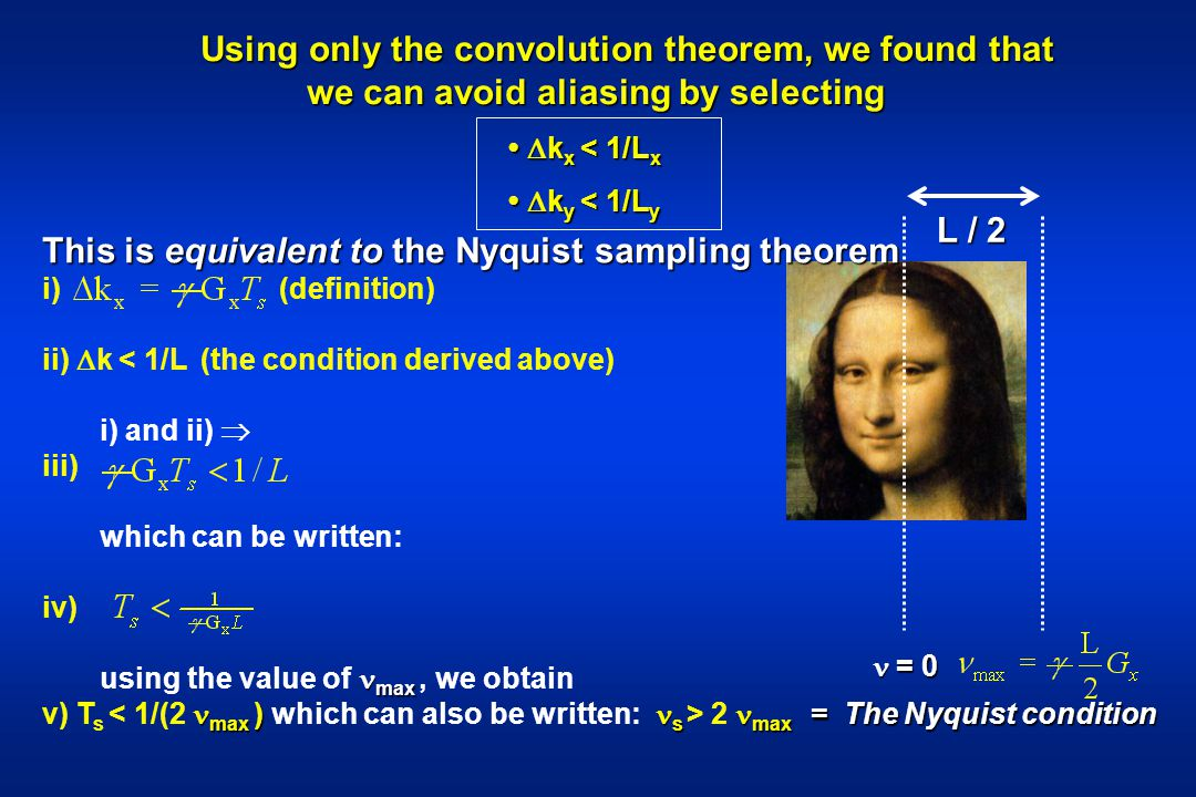 Using only the convolution theorem, we found that