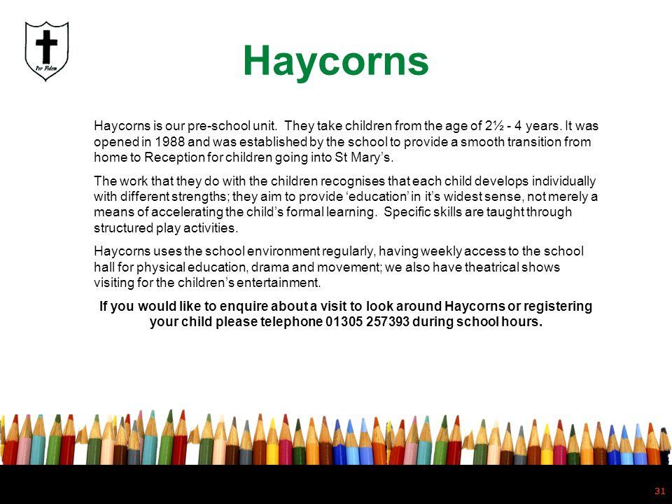 Haycorns