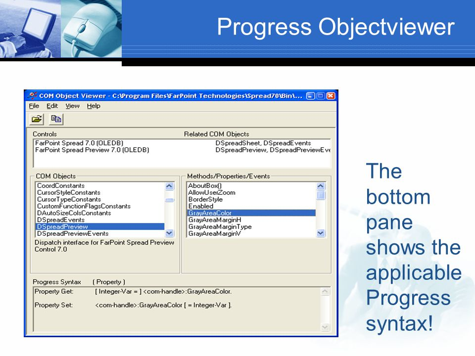 Progress Objectviewer