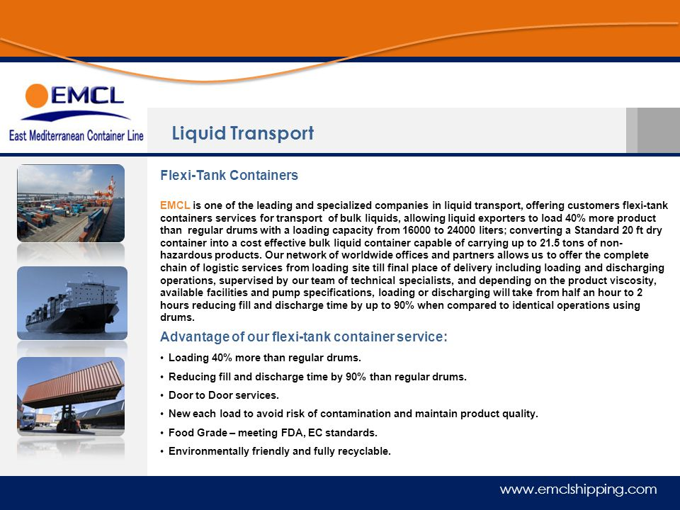 Liquid Transport Flexi-Tank Containers