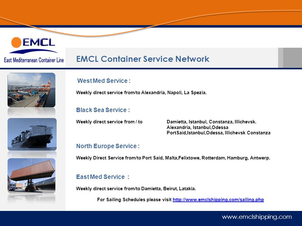 EMCL Container Service Network