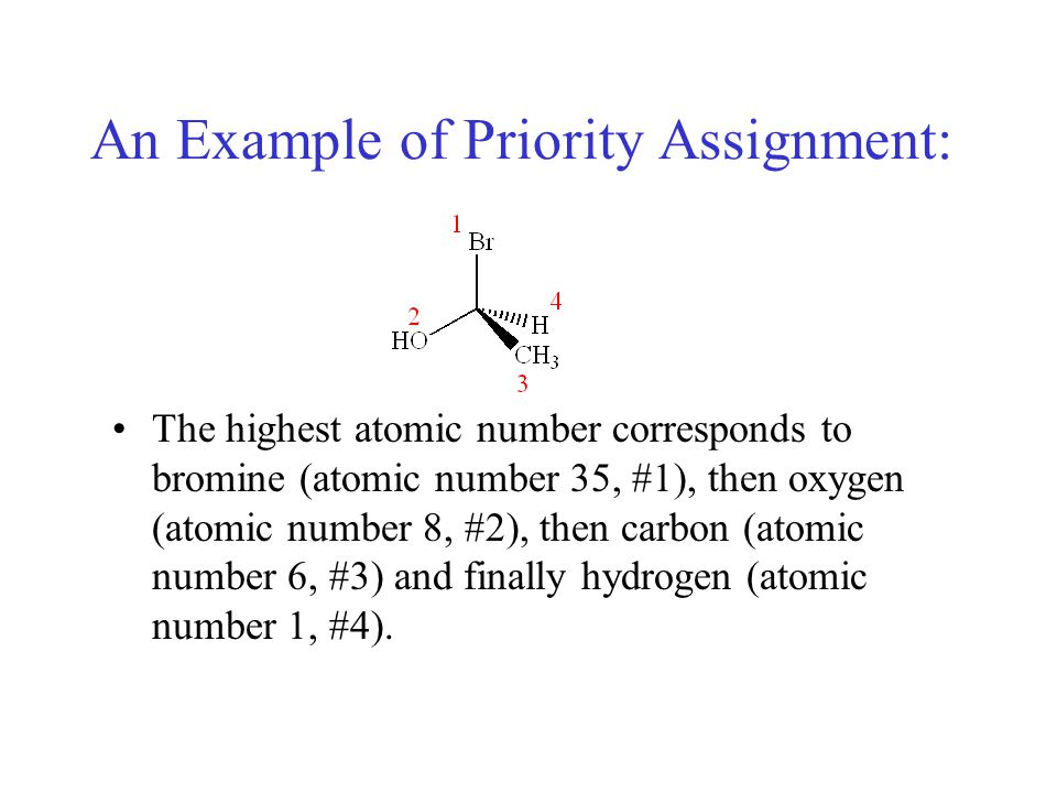 An Example of Priority Assignment:
