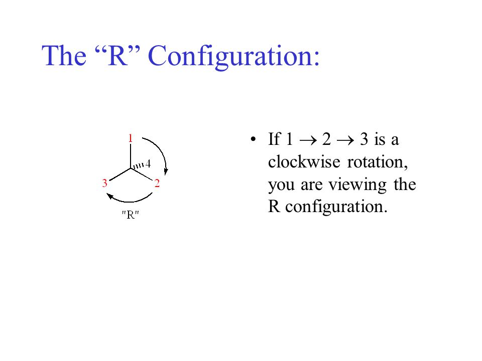 The R Configuration: