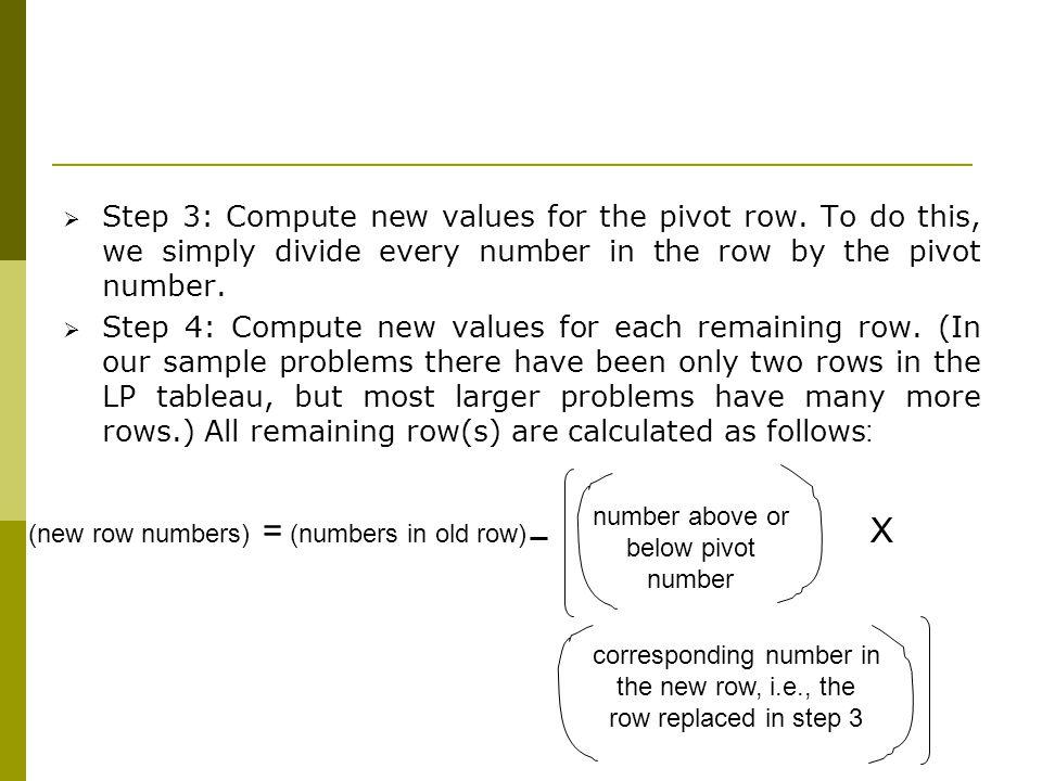 corresponding number in
